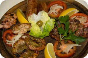 7 Secoli mixed meat platter Argentinian cuisine