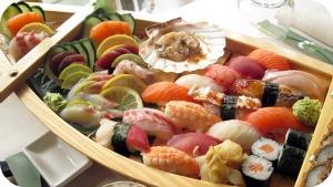 sushi at Niwa