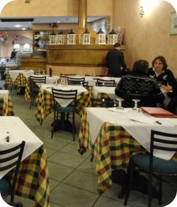 Florence Restaurants - Pizza Places - Dantesca interior