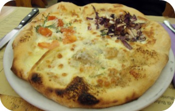 Florence Restaurants - Pizza Places - Fantasia pizza at Spera