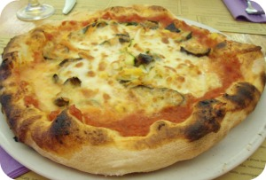 A Neapolitan style pizza in Florence