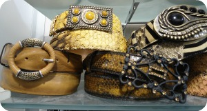 Florence Shopping - Belts and Gloves - ladies belts at Marcus