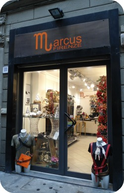 Florence Shopping - Belts and Gloves - Marcus