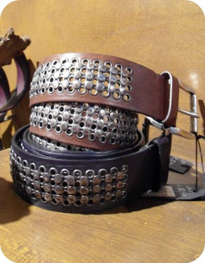 Florence Shopping - Belts and Gloves - Second Skin metal worked belts