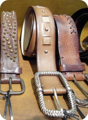 Florence Shopping - Belts and Gloves - Second Skin studded belts