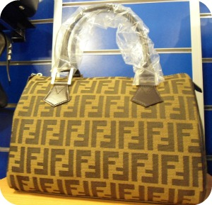 Florence Shopping - Cheap Designer Bags - Fendi at Oceanomoda