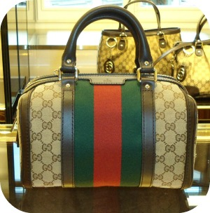 Designer Bags And Gucci In Florence Italy