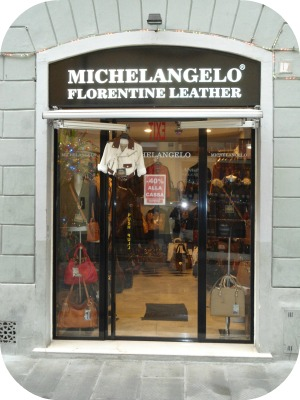 Florence Shopping - Leather Jackets - Michelangelo leather