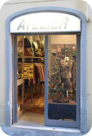 Florence Shopping - Leather Jackets - Atelier