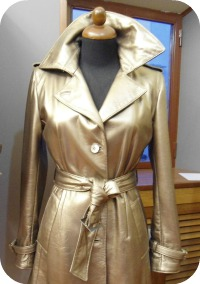 Florence Shopping - Leather Jackets - gorgeous trench in nappa leather