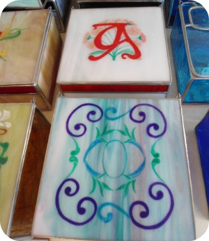 Florence Shopping - Niche Shops - Artigianni hand-painted stained glass