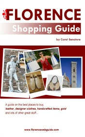 Florence Shopping Guide ebook on Amazon