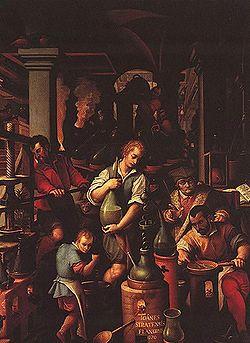 the Studiolo, 'little den', Francesco de Medici's playroom