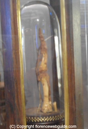A finger of Galileo