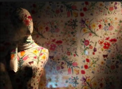 Gucci's Flora print made for Princess Grace