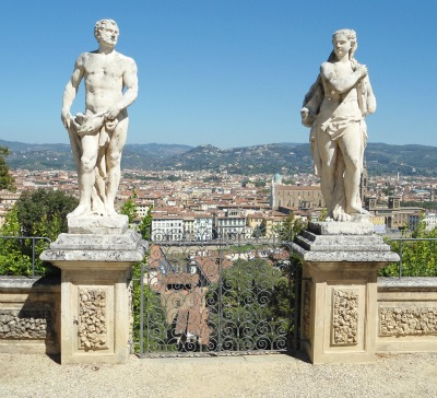 Tours in Florence Italy - Bardini Gardens in summer