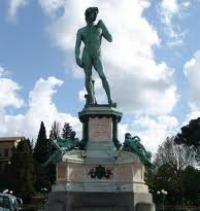 Bronze Statue of David - a guided tour of Florence