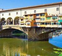 Ponte Vecchio in the heart of town