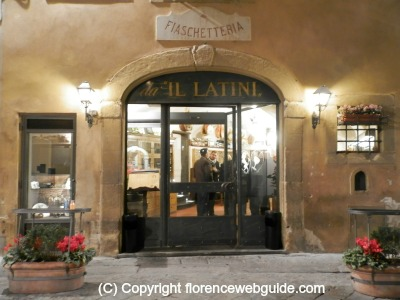 Il Latini, one of Florence's most famous trattoria