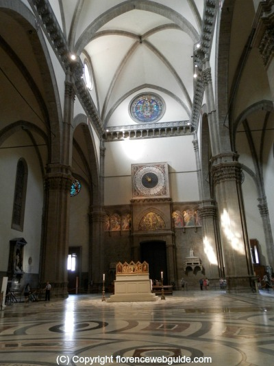 Interior of the Duomo