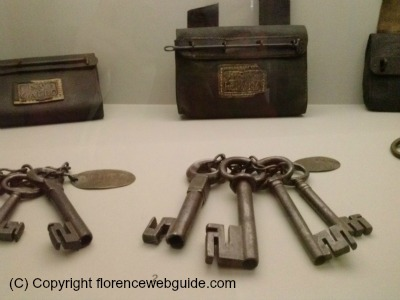 original keys to the gates of Medieval Florence