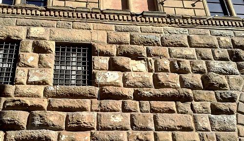 Ground level of Medici palace