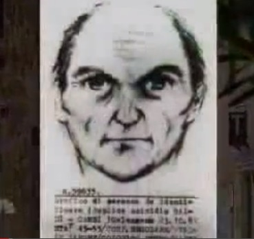 Police sketch of the Mostro di Firenze