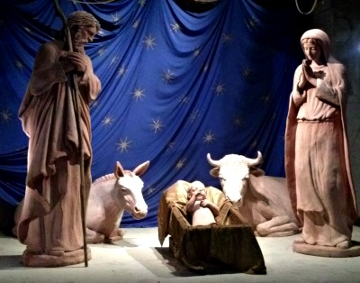 Nativity scene at the Florence cathedral