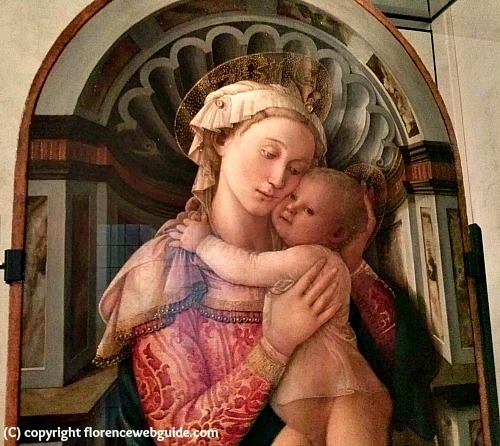 Madonna and child by Filippo Lippi