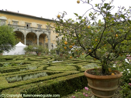Corsini villa and garden