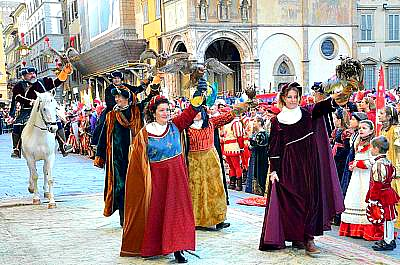 Procession of the Wise Men and Florentine Republic on Epiphany Day in Florence