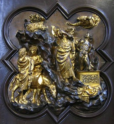 Ghiberti's panel which won the competition