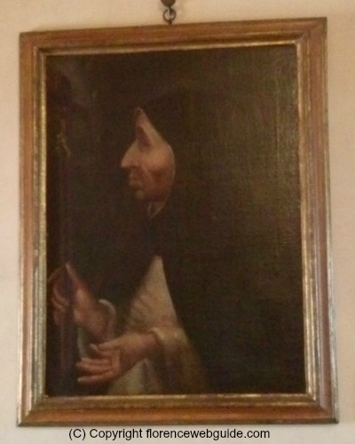 A painting of Savonarola at the San Marco Museum