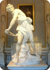 Bernini's statue of David