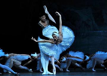 Scene from the ballet Swan Lake