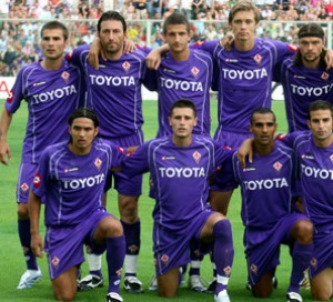 The Florence Soccer (or Football) team, AC Fiorentina!