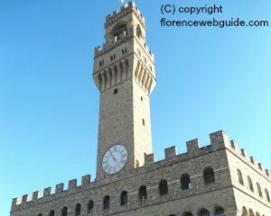 The Arnolfo Tower - Palazzo Vecchio