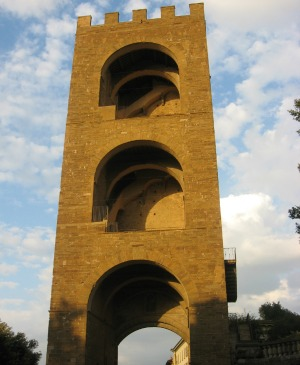 Torre San Niccolò in Florence, open in summer