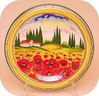 Florence Shopping - Ceramics Plate