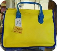 Florence Shopping - Handmade leather bags and goods - Gioia Chiara colored bag