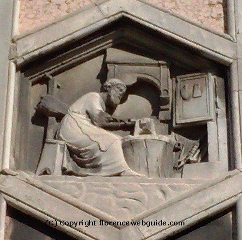 The first blacksmith