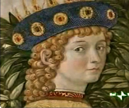 Idealized image of Lorenzo the Magnificent by Benozzo Gozzoli