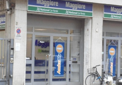 Maggiore car rentals office Florence