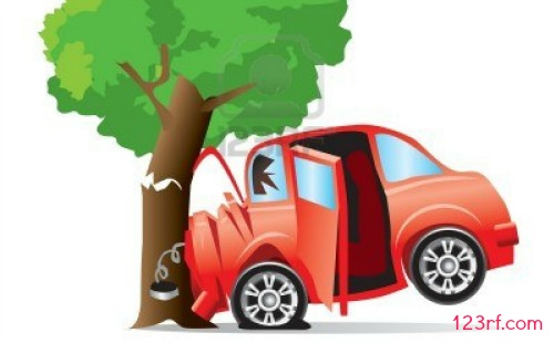 Tree crashes are not covered in standard insurance