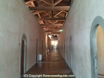 Convent of San Marco corridor with monk's cells