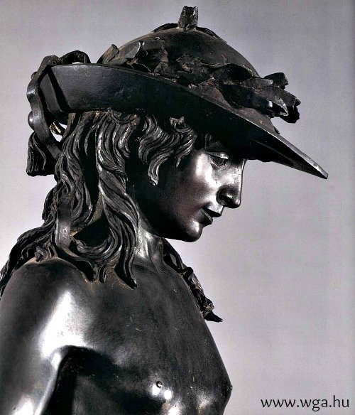 Donatello's masterpiece, David in bronze, originally 'lived' at the Medici palace