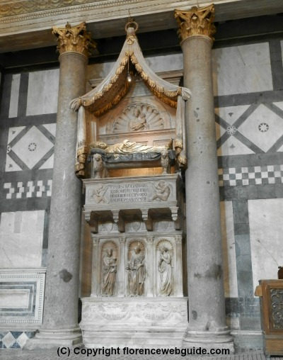 Tomb of the antipope John XXIII