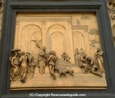'Jacob and Esau' panel by Ghiberti
