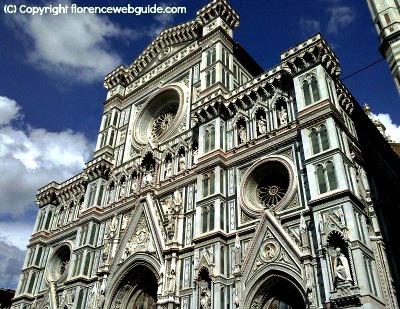 facade of the Duomo