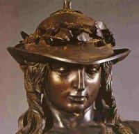Donatello's David in the Bargello Museum